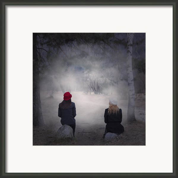 Girlfriends Framed Print By Joana Kruse