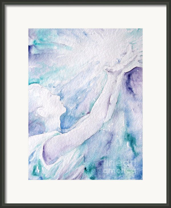 Give And Receive Framed Print By Jennifer Apffel