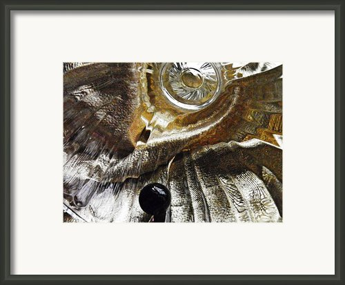 Glass Abstrct 457 Framed Print By Sarah Loft