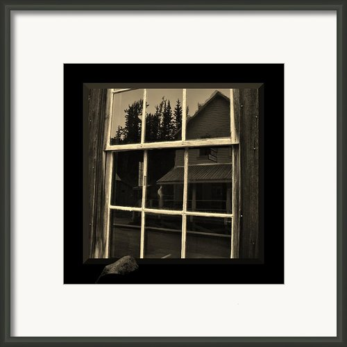 Glass Ghost Framed Print By Barbara St Jean