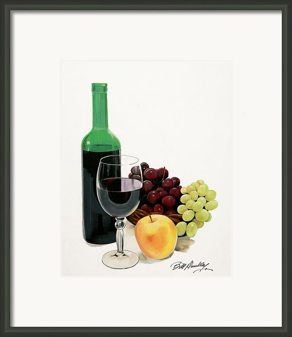 Glass Half Full Framed Print By Bill Dunkley