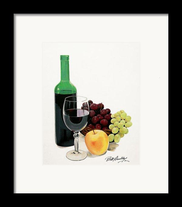 Glass Half Full Framed Print By Bill Dunkley