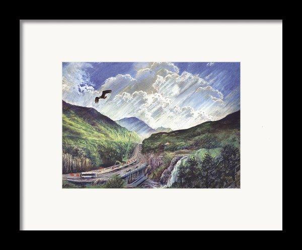 Glencoe Framed Print By Steve Crisp