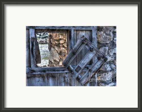 Glimpses Of Times Past Framed Print By Heiko Koehrer-wagner
