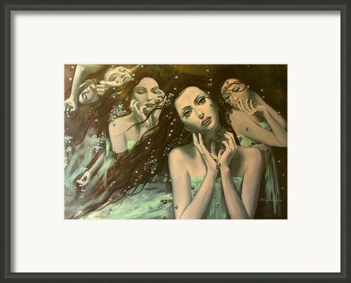 Glissando Framed Print By Dorina  Costras