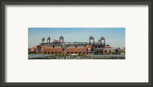 Go Phils Framed Print By Michael Porchik