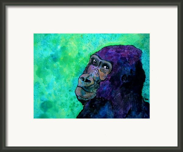 Go Sit In Time Out Framed Print By Debi Pople