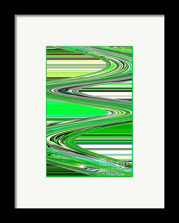 Go With The Flow Framed Print By Carol Groenen