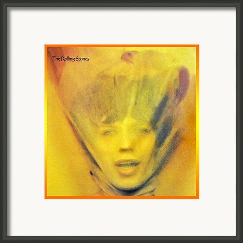 Goats Head Soup Album Framed Print By Susan Leggett