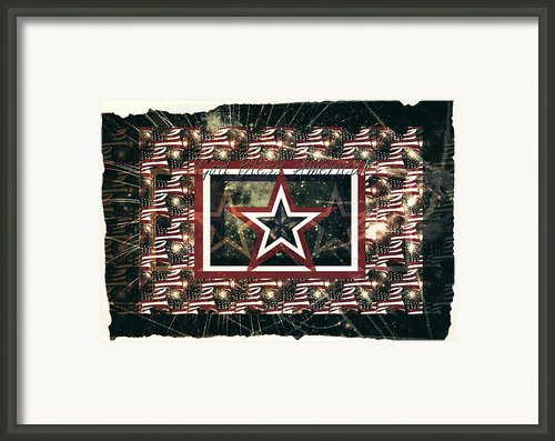 God Bless America Framed Print By Sherry Flaker