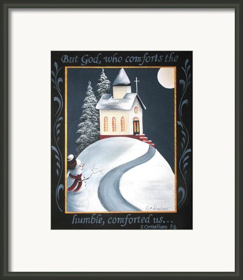 God Comforts The Humble Framed Print By Catherine Holman