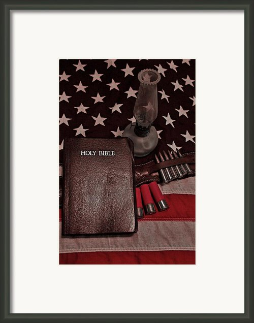 God Guts And Glory Framed Print By Flora Ehrlich