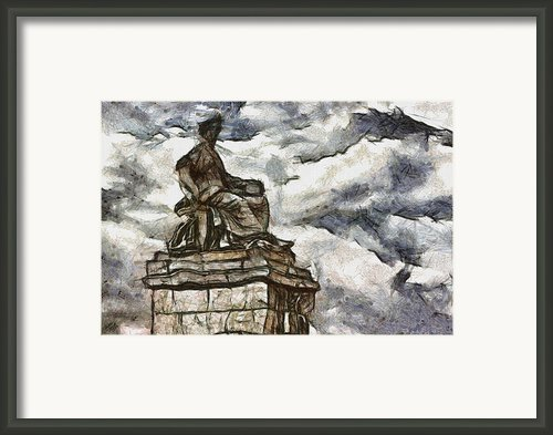 Goddess Framed Print By Ayse T Werner