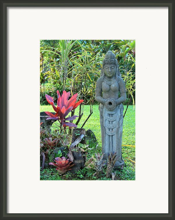 Goddess Bhudevi Mother Earth Framed Print By Karon Melillo Devega