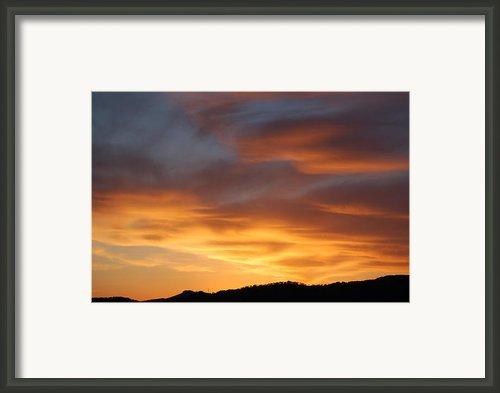 Gods Paintbrush Framed Print By Jordan Rusin