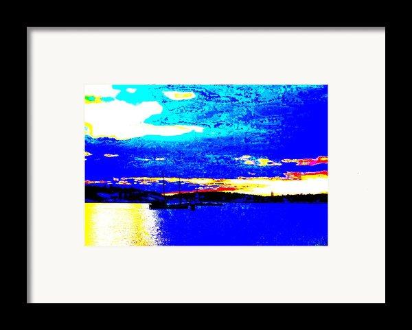 Going Anywhere Framed Print By Hilde Widerberg