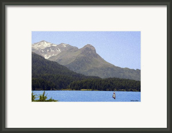 Going Where The Wind Blows Framed Print By Jeff Kolker