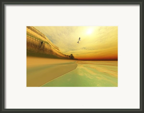 Gold Coast Framed Print By Corey Ford