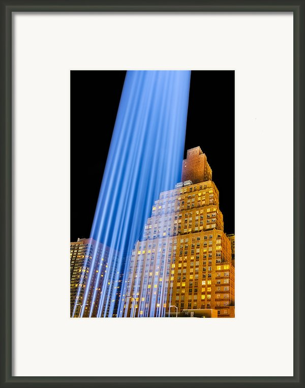 Golden Blue Framed Print By Susan Candelario
