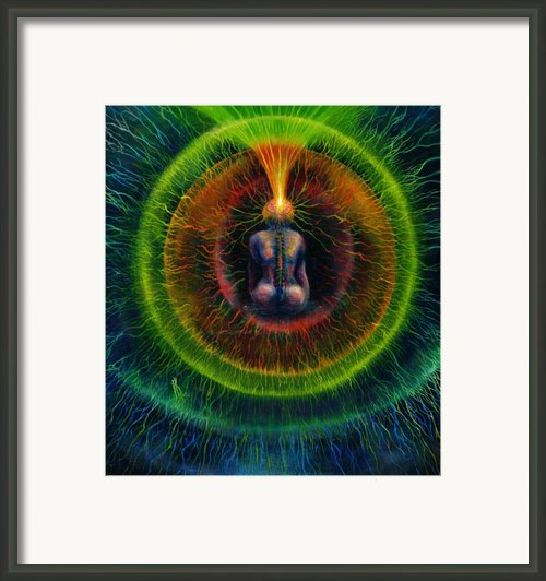 Golden Lead Framed Print By Kd Neeley