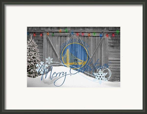 Golden State Warriors Framed Print By Joe Hamilton