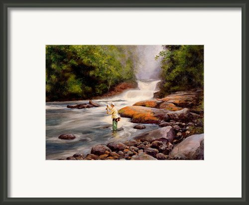 Good Fishing Framed Print By Michael Swanson