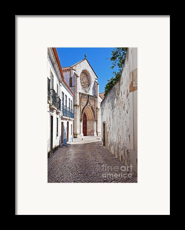 Gothic Church Framed Print By Jose Elias - Sofia Pereira
