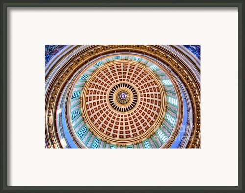 Gov001-12 Framed Print By Cooper Ross
