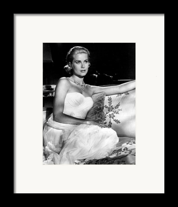 Grace Kelly Looking Gorgeous Framed Print By Retro Images Archive