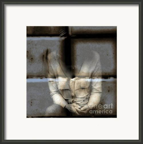 Graffiti  Framed Print By Steven  Digman