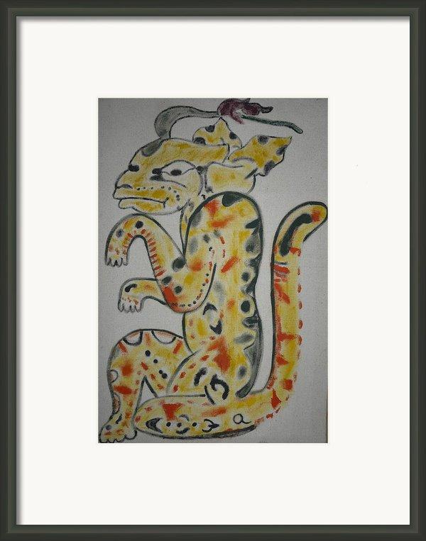 Gran Jaguar Framed Print By Juan Francisco Zeledon