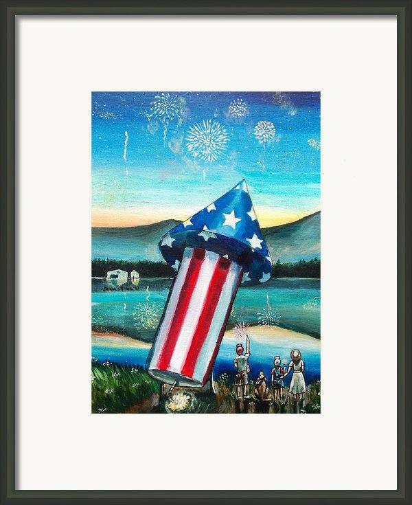 Grand Finale Framed Print By Shana Rowe
