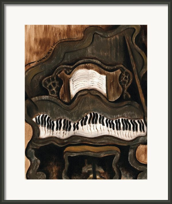 Grand Piano Framed Print By Tommervik