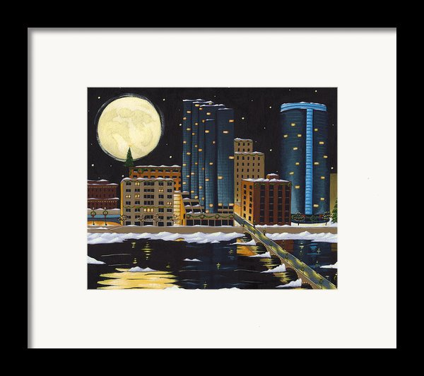 Grand Rapids Framed Print By Christy Beckwith