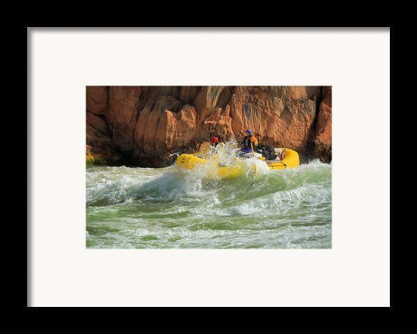 Granite Rapids Framed Print By Inge Johnsson