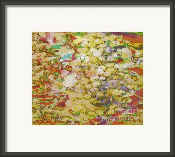 Grape Abundance Framed Print By Painterartist Fin