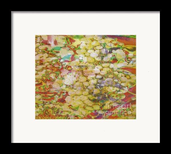 Grape Abundance Framed Print By Painterartist Fin