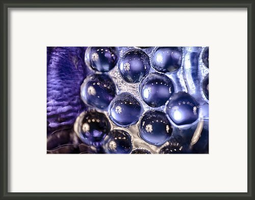 Grapes Of Glass Framed Print By Omaste Witkowski