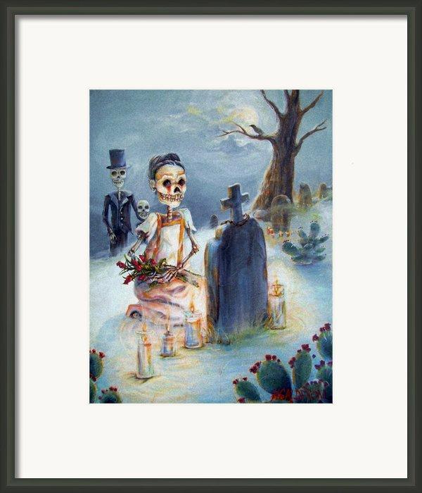 Grave Sight Framed Print By Heather Calderon