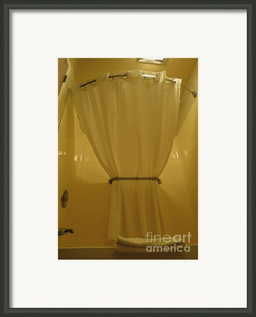 Great Creativity At Great Northern. Bathroom Framed Print By Ausra Paulauskaite