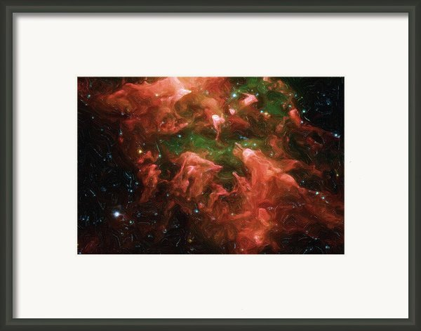 Great Nebula In Carina Framed Print By Ayse T Werner