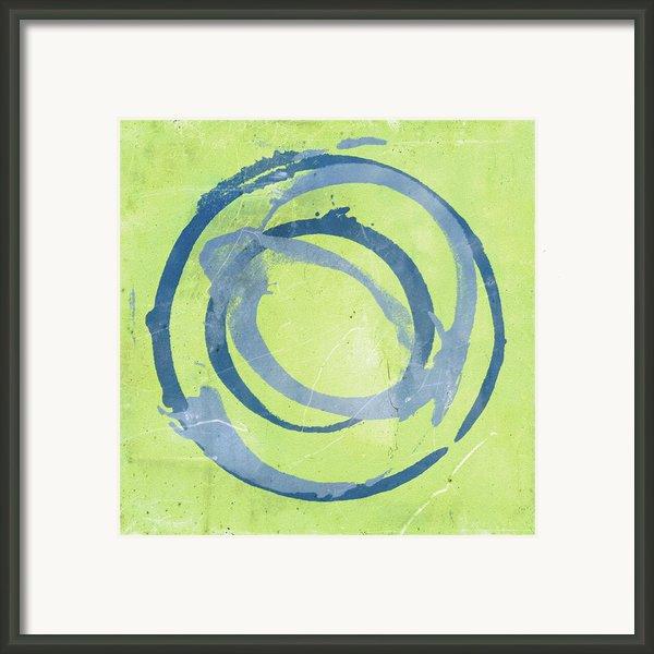 Green Blue Framed Print By Julie Niemela