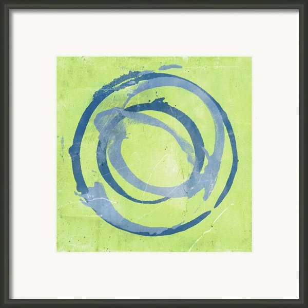 Green Blue Framed Print By Julie Niemela