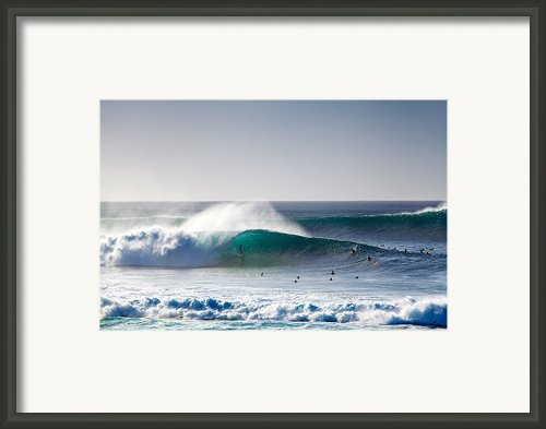 Green Dream Framed Print By Sean Davey