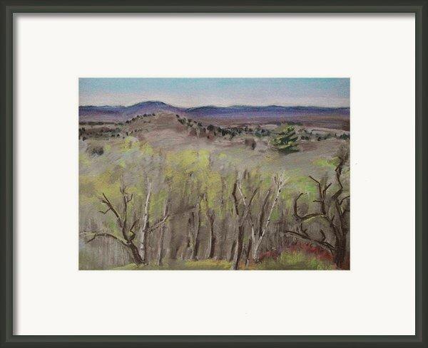 Greening Framed Print By Grace Keown