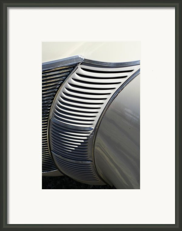 Grill Work Framed Print By Joe Kozlowski