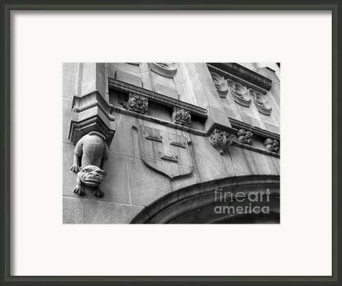 Grinnell College Detail Framed Print By University Icons