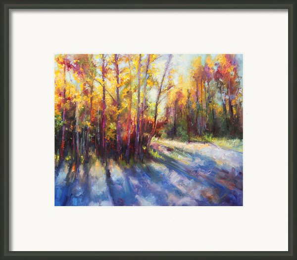 Growth Framed Print By Talya Johnson