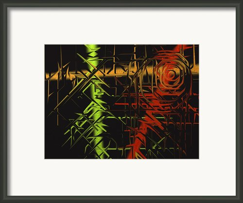 Grunge Framed Print By Michael Jordan
