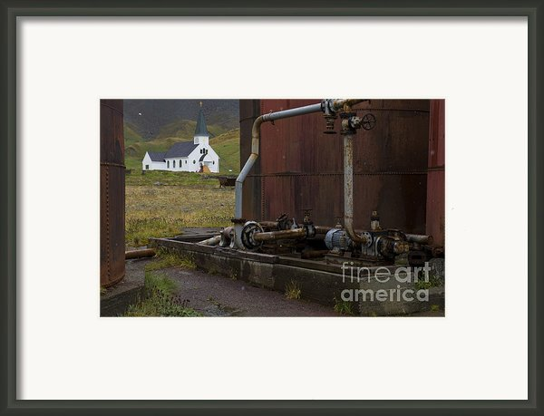 Grytviken, South Georgia Framed Print By John Shaw
